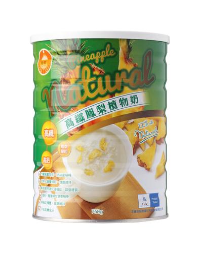 珍田高纖鳳梨植物奶